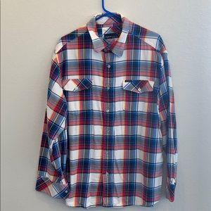 Rocawear Plaid  Men's Button-up